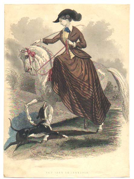 Riding_Habit_Fashion_Plate_c1847